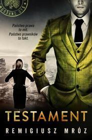 Mróz Remigiusz Testament / wysyłka w 24h