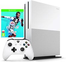 Microsoft Xbox One S Biały 500GB + FIFA 19