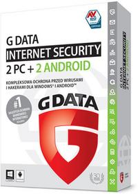 G DATA Internet Security 2PC+2xAndroid / 20 miesięcy 2018