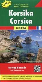 Freytag&berndt Korsyka Mapa 1:150 000 - Freytag & Berndt