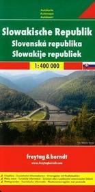 Freytag&berndt Słowacja mapa 1:400 000 Freytag & Berndt - Freytag & Berndt