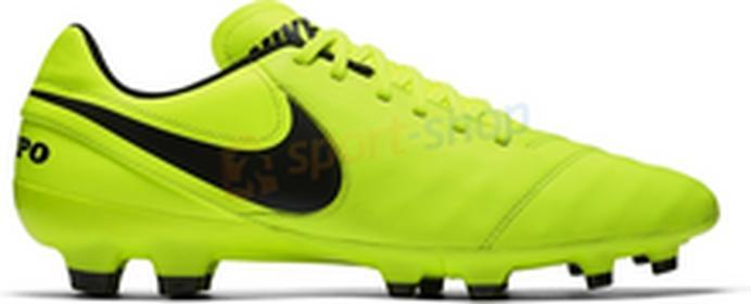 NikeTiempo Genio II Leather FG 819213-707 żółty