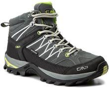 CMP Trekkingi Rigel Mid Wmn Trekking Shoes Wp 3Q12946 Grey/Ice/Acido 91AD