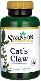 SWANSON Cat's Claw (Koci Pazur) 500 mg 100 kapsułek