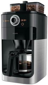 Philips Grind i brew hd7767/00ekspres do kawy z filtrem (1000wat, stal nierdzewna) czarna