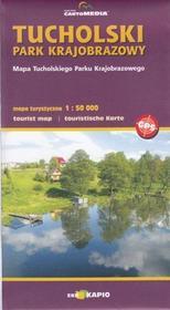 CartoMedia Tucholski Park Krajobrazowy mapa 1:60 000 Cartomedia