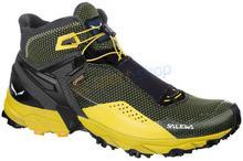 Salewa Buty trekkingowe Ultra Flex Mid GTX czarno-żółte) 12h