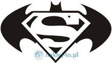 Naklej-to.pl Superbohaterowie naklejka naklejka na ścianę superbohaterowie01