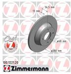 Zimmermann Tarcza hamulcowa 100.1221.20
