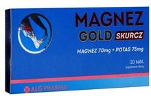 ALG PHARMA MAGNEZ GOLD SKURCZ 10 tabletek 3195042