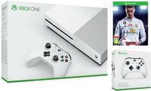 Microsoft Xbox One S 1TB Biały + FIFA 18 + 2 Pady