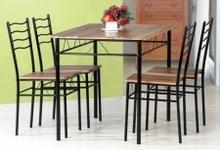 Signal Zestaw ESPRIT (stół + 4 krzesła) orzech ESPRIT