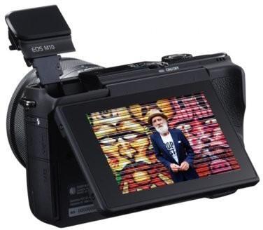 Canon EOS M10 + 15-45mm czarny