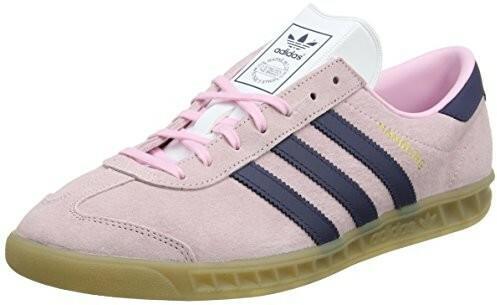 huge selection of 0daf7 acc08 adidas Adidas Damskie Hamburg w buty sportowe, różowy - wielokolorowa - 43  13