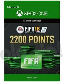 FIFA 18 2200 Punktów XONE wersja cyfrowa