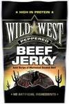Opinie o Wild West Przekąska Beef Jerky PEPPERED 25g 4068
