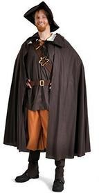 Limit Sport Odporna na deszcz/kostium dla mężczyzn/LARP szacie, Romeo średniowieczne, z kapeluszem i peleryną nowość, xl, wielokolorowa B01M020CLP