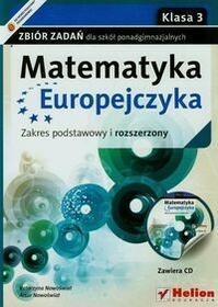 Matematyka Europejczyka 3 Zbiór zadań Zakres podstawowy i rozszerzony + CD - Katarzyna Nowoświat, Artur Nowoświat