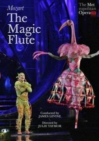 James Levine; Matthew Polenzan Mozart The Magic Flute Metropolitan Opera) DVD)