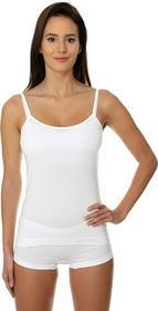 Brubeck Brubeck Koszulka damska Camisole CM00210A Brubeck biały roz XL CM00210A