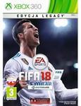 EA FIFA 18 Legacy Edition Xbox 360