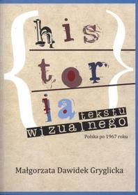 Historia tekstu wizualnego - Wysyłka od 3,99