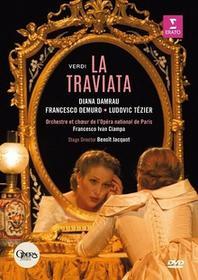 Verdi La Traviata Opera National De Paris Bastille DVD) Diana Damrau Orchestre Et Choeur De Lopera National De Paris Francesco Ivan Ciampa