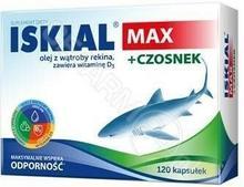 NATURELL Iskial MAX + Czosnek x 120 kaps