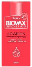 Lbiotica L'BIOTICA L'Biotica Opuntia Oil & Mango Intensywnie regenerujący szampon x200 ml ID-16289