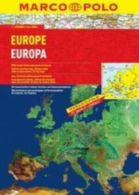 Pascal Europa 1:2 000 000 atlas samochodowy (Marco Polo) - Praca zbiorowa
