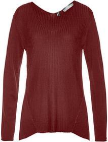 Bonprix Sweter czerwony kasztanowy