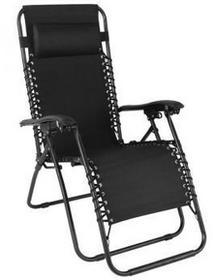 wideshop Leżak ogrodowy leżanka fotel krzesło regulacja ART-789