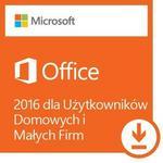 Microsoft Office 2016 dla Firm i Użytkowników Domowych