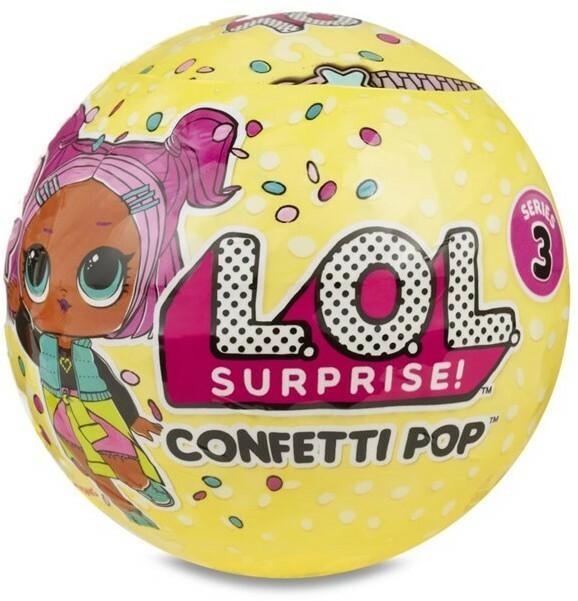 L.O.L. L.O.L. Surprise Confetti Pop 100157