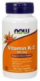 RELAX Witamina-k2-100ug-100-kaps Now Foods