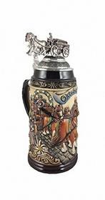 ISDD Cuckoo Clocks Kufel do piwa kufel do piwa z naciągiem relief kufel do 1litrów kufel do piwa zo 1915/9013 ZO 1915/9013
