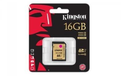 Kingston SDHC Class 10 UHS-I Ultimate 16GB