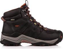 Keen Buty trekkingowe męskie Gypsum II Mid WP Czarno-Pomarańczowe r 42.5 1015300) 1015300