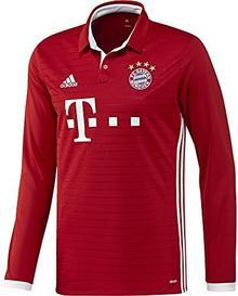 Adidas Męskie piłka nożna/dom FC Bayern München Replica koszulka L, czerwony, M AI0051_M_FCBTRU/WHITE_Fcbtru/White_M