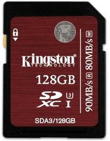 Kingston SDXC UHS-I Speed Class 3 128GB