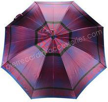 PIERRE CARDIN Parasol PIERRE CARDIN 627 Purpurowy - purpurowy 627 wzór 7-0