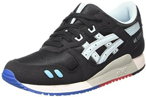 9e422d6132 Asics Gel-Lyte III GS unisex dziecięce buty typu sneaker - czarny - 37 eu