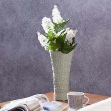 Dekoria Wazon Flowers pistacja wys 25cm 25cm 000-429