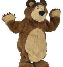 Simba Toys MASZA TAŃCZĄCY NIEDŹWIEDŹ 35 CM 109308236