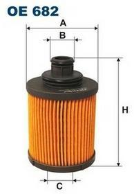 FILTRON Filtr oleju OE 689