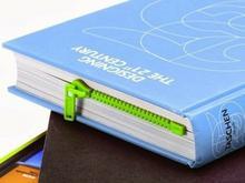 Gift World Gift World, Suwakowa zakładka do książki, zielona