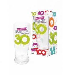BGtech BALONIKI szklanka do piwa 500ml 30 urodziny 11901620/OP-059-021/PL-3361