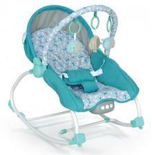Baby Mix Leżaczek niemowlęcy Baby Mix BR 212-18 Blue