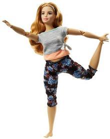 Barbie Made to move Kwiecista lalka z krągłościami FTG84