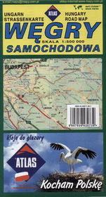 PIĘTKA Węgry mapa samochodowa - Piętka